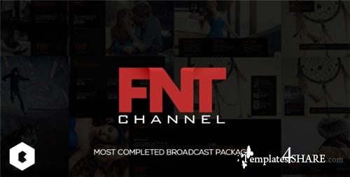 FNT Broadcast Package - After Effects Project (Videohive)