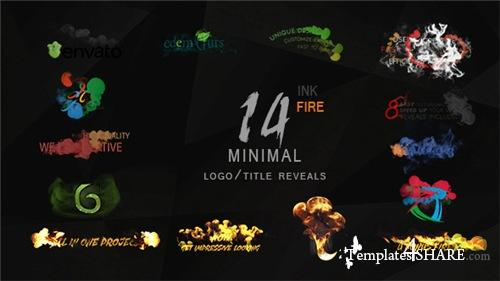 Minimal Ink&fire Logo/Title Reveals Package - After Effects Project (Videohive)
