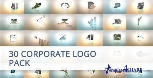 30 Corporate Logo Animation Pack - After Effects Project (Videohive)