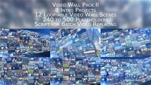 Video Wall Pack II - After Effects Project (Videohive)