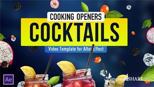 Cooking Design Pack - Cocktails - After Effects Project (Videohive)
