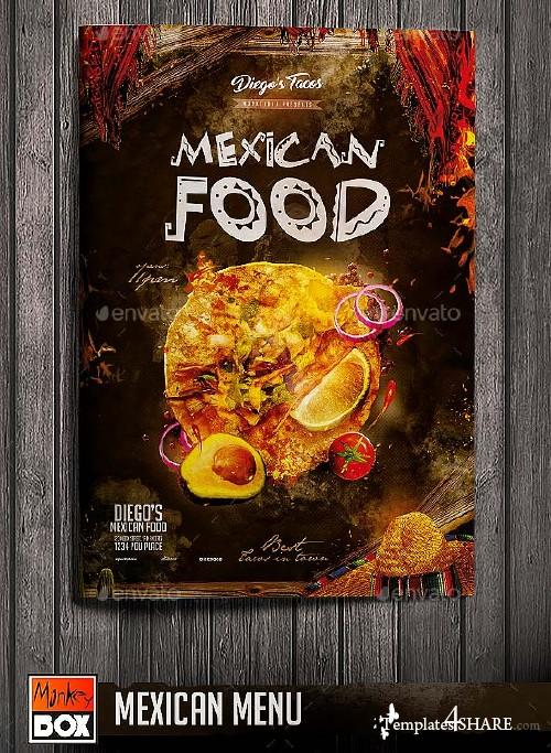 GraphicRiver Mexican Menu