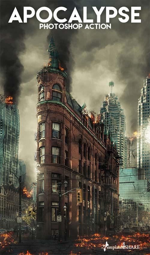 GraphicRiver Apocalypse Photoshop Action