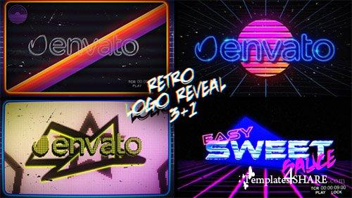 Retro Logo Reveal Pack Vol.2 - After Effects Project (Videohive)