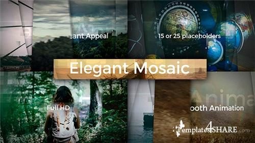 Elegant Mosaic Opener - After Effects Project (Videohive)