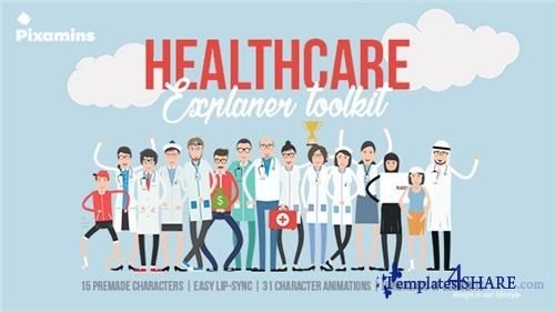 Healthcare Explainer Toolkit - After Effects Project (Videohive)