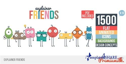 Explainer Friends - After Effects Project (Videohive)
