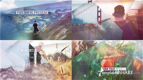 Abstract Shapes - Simple Slideshow - After Effects Project (Videohive)