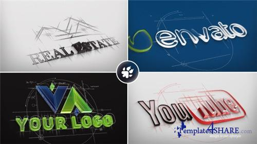 Architect Sketch Logo - After Effects Project (Videohive)