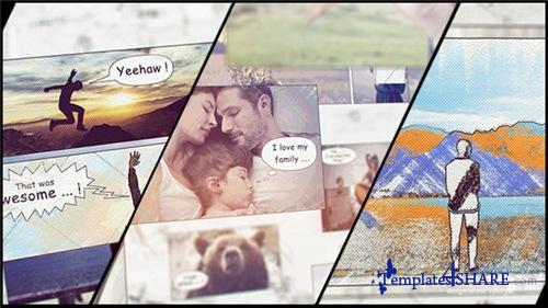 Hand Drawn Family Holiday Slideshow - After Effects Project (Videohive)