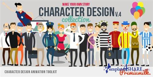Character Design Animation Toolkit - After Effects Project (Videohive)