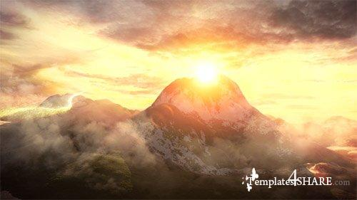 Sky and Mountains Logo - After Effects Project (Videohive)