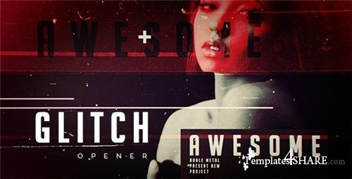 Grunge Glitch Opener - After Effects Project (Videohive)