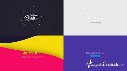 Flat Logo Animations - After Effects Project (Videohive)
