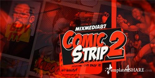 Comic Strip 2 - After Effects Project (Videohive)