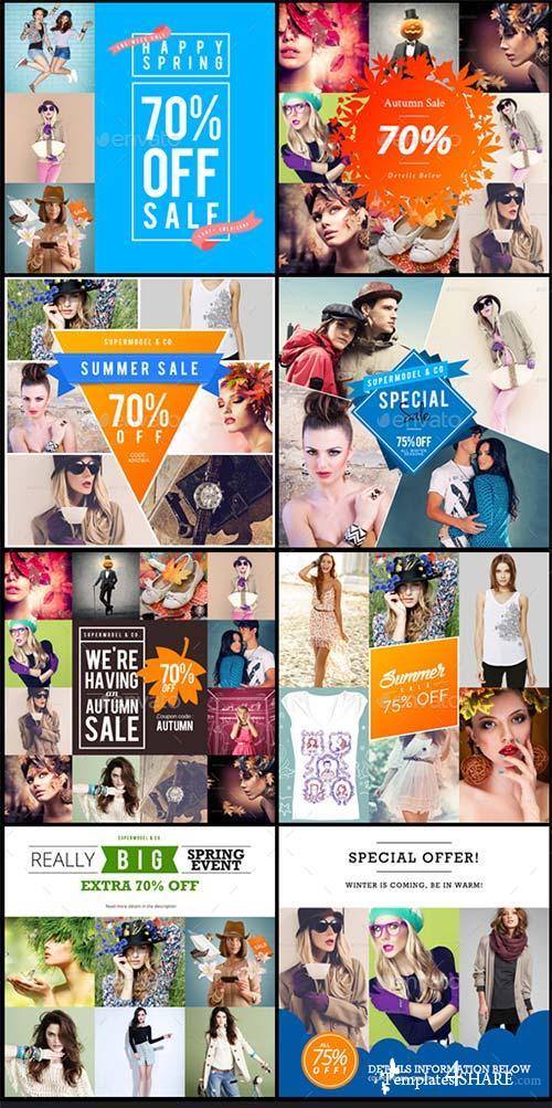 GraphicRiver Promogram Vol.02 - Instagram Promotion Template