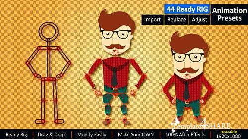 Ready Rig for Your Character - After Effects Project (Videohive)