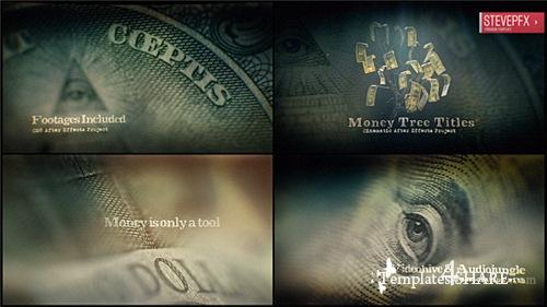 Money Tree Title - After Effects Project (Videohive)
