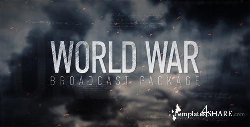 World War Broadcast Package - After Effects Project (Videohive)