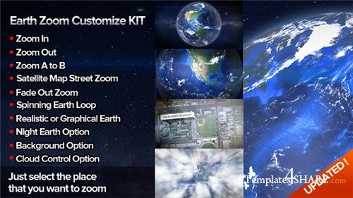 Earth Zoom Customize Kit 4 - After Effects Project (Videohive)