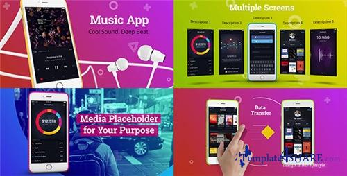 Colorful App Promo - After Effects Project (Videohive)