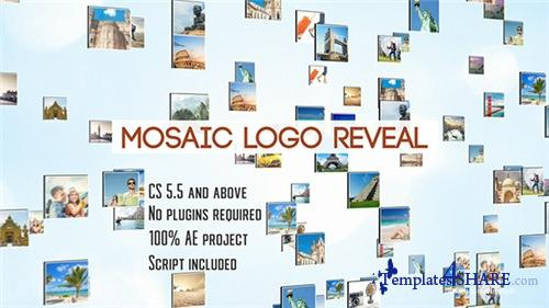 Mosaic Logo Reveal 19756238 - After Effects Project (Videohive)