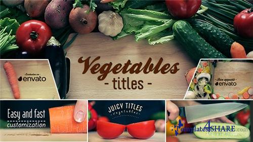 Vegetables Titles - After Effects Project (Videohive)