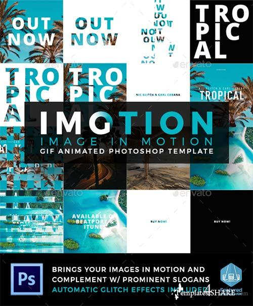 GraphicRiver Imotion - Gif Animated Photoshop Template