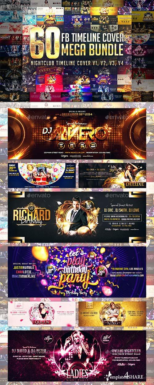 GraphicRiver 60 Timeline Cover Mega Bundle