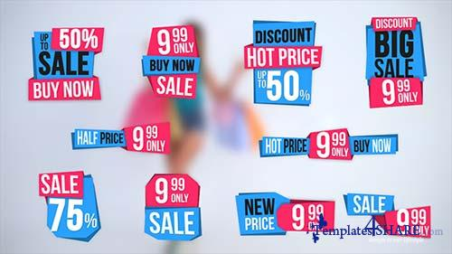 10 Sales Label - After Effects Project (Videohive)