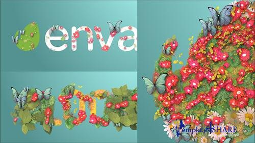 Blooming Logo - After Effects Project (Videohive)