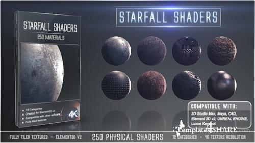 Starfall Shaders - After Effects Project (Videohive)
