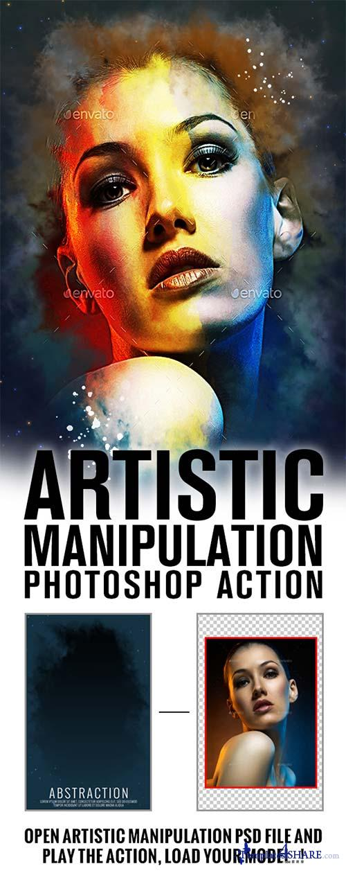GraphicRiver Artistic Manipulation Actions V1