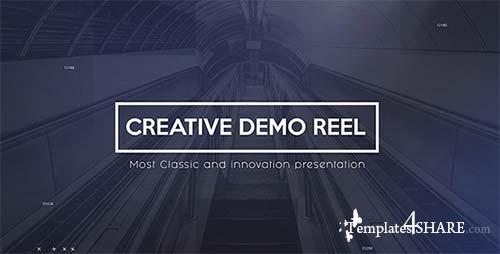 Creative Demo Reel - After Effects Project (Videohive)