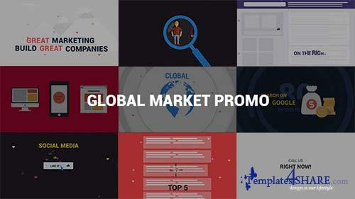 Global Market Promo - After Effects Project (Videohive)