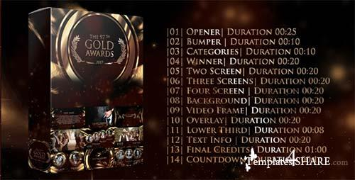 Gold Awards - After Effects Project (Videohive)