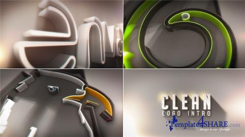 Clean Logo Intro - After Effects Project (Videohive)