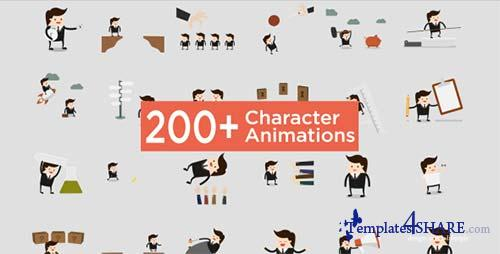 Character Animation Pack - After Effects Project (Videohive)