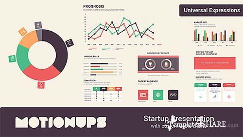 Startup Infographics Presentation - After Effects Project (Videohive)