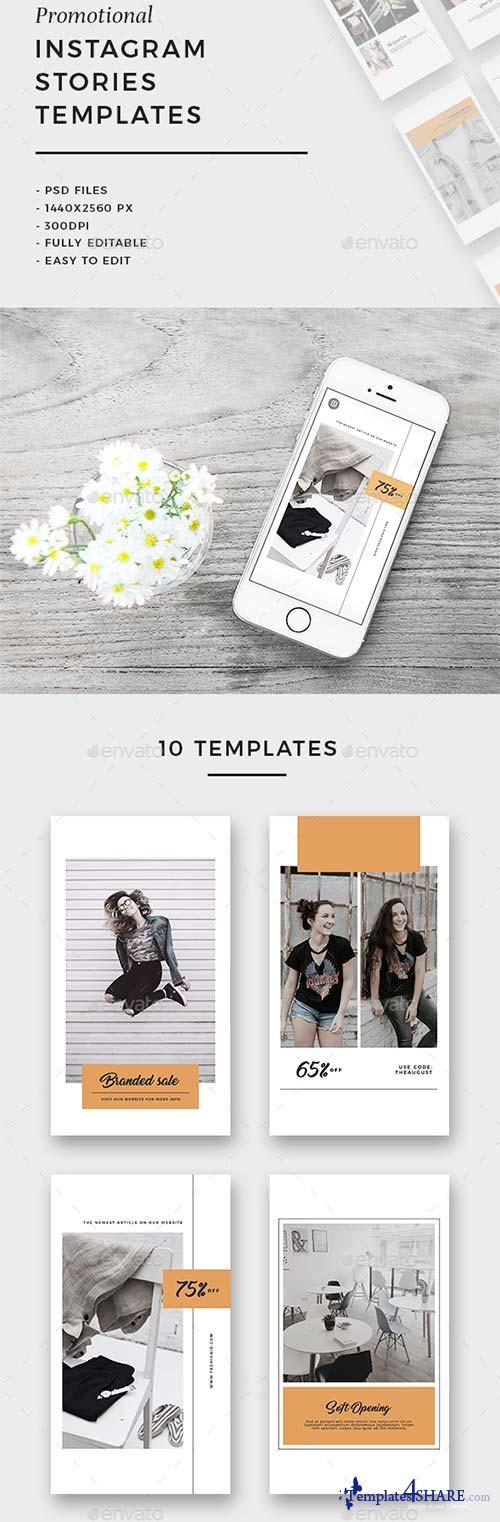 GraphicRiver Instagram Stories Templates Vol.03
