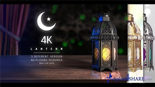 4K Lantern - Ramadan - After Effects Project (Videohive)