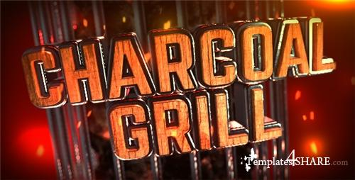 Charcoal Grill Logo Reveal - After Effects Project (Videohive)