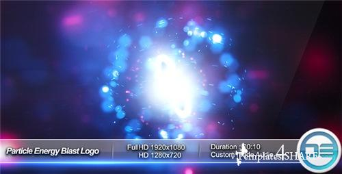 Particle Energy Blast Logo Reveal - After Effects Project (Videohive)