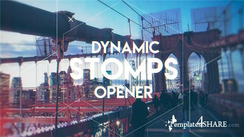 Dynamic Stomps Opener - After Effects Project (Videohive)
