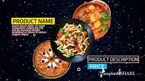 4K Restaurant Product Promo - After Effects Project (Videohive)