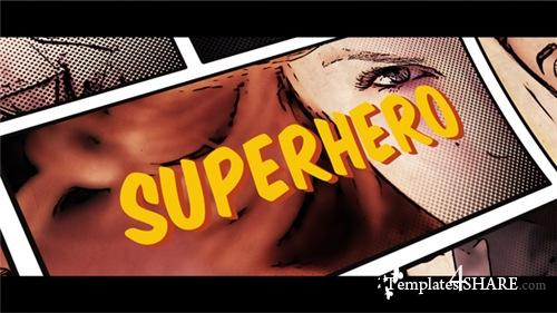 Superhero Opener - After Effects Project (Videohive)