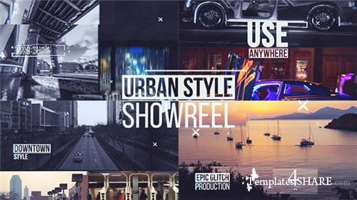 Urban Showreel - After Effects Project (Videohive)