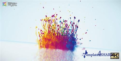 Particles Splash Logo Reveal - After Effects Project (Videohive)
