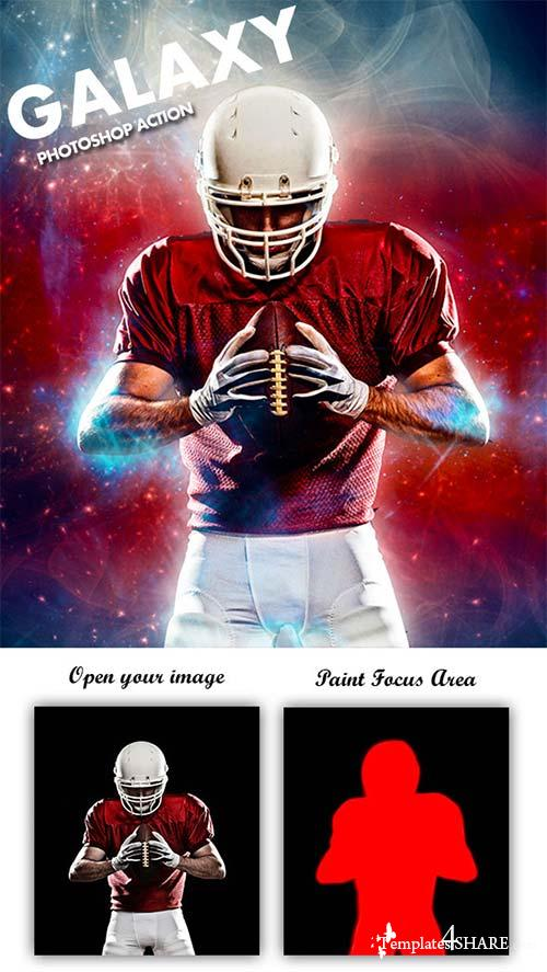 GraphicRiver Galaxy Photoshop Action