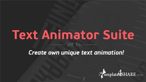 Text Animator Suite - After Effects Script (Videohive)